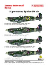 Techmod 1/72 Supermarine Spitfire Mk.Vb Decals