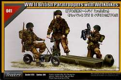 Tristar 1/35 WWII British Paratroopers with Welbikes
