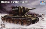 "Trumpeter 1/35 KV-2 Model 1939 ""Big Turret"" Russian Tank"