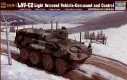 "Trumpeter 1/35 USMC LAV-C2 Light Armored Vehicle ""Command and Control"""