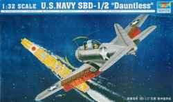 Trumpeter 1/32 US Navy SBD-1/2 Dauntless