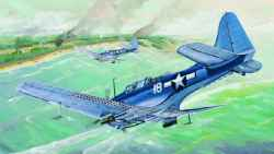 Trumpeter 1/32 US Navy SBD-5/A-24B Dauntless