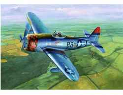 Trumpeter 1/32 P-47D Thunderbolt with Dorsal Fin