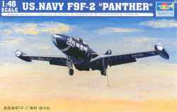 Trumpeter 1/48 US Navy F9F-2 Panther