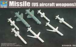 Trumpeter 1/32 US Aircraft Weapons - Missile