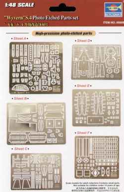 Trumpeter 1/48 Wyvern S.4 Photo-Etched Parts Set