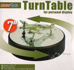"Trumpeter 7"" Display Turntable"