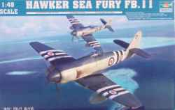 Trumpeter 1/48 Hawker Sea Fury FB.11