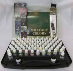 Vallejo Model Color Military Box Set 72 Colours