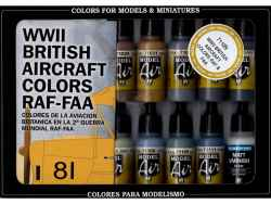 Vallejo Model Air WWII British Aircraft Colours (16)