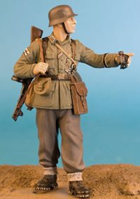 Wee Friends 1/35 WWII German Infantryman with PPSh