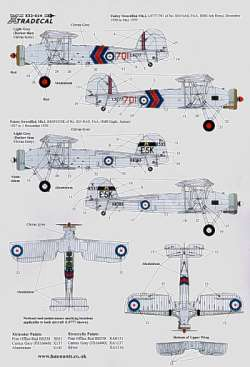 Xtradecal 1/32 Fairey Swordfish Mk.I Pre-War Decals
