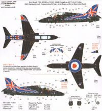 Xtradecal 1/32 BAe Hawk T.1 208(R) Squadron 2009 Display Aircraft