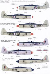 Xtradecal 1/48 Hawker Sea Fury FB.11 Decals