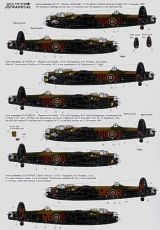 Xtradecal 1/48 RAF Ton-Up Avro Lancasters