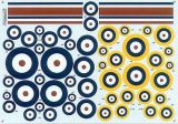 Xtradecal 1/72 RAF Roundels A Type/A1 Type