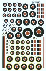 Xtradecal 1/72 RAF Roundels, C Type, C1 Type & Fin Flashes