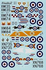 Xtradecal 1/72 EE Lightning F.1, F.1A, F.2 Part 1