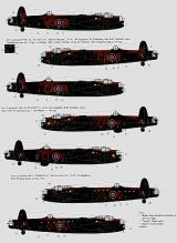 Xtradecal 1/72 RAF Ton-Up Avro Lancasters