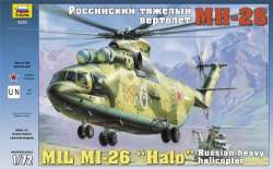 "Zvezda 1/72 Mil Mi-26 ""Halo"" Russian Heavy Helicopter"