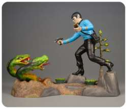 AMT 1/12 Star Trek Mr Spock Diorama