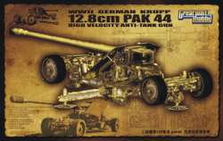 Great Wall Hobby 1/35 German Krupp 12.8cm Pak44 High Velocity Anti-Tank Gun
