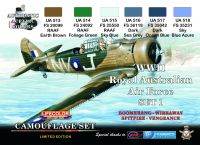 Lifecolor WWII Royal Australian Air Force Paint Set 1
