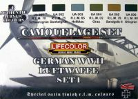 Lifecolor German WWII Luftwaffe Paint Set 1