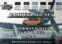 Lifecolor German WWII Luftwaffe Paint Set 2